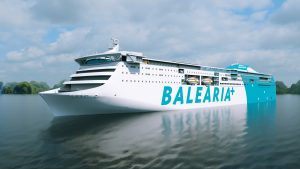Wärtsilä will deliver the design, power and propulsion for Balearia's new RoRo passenger ferry.