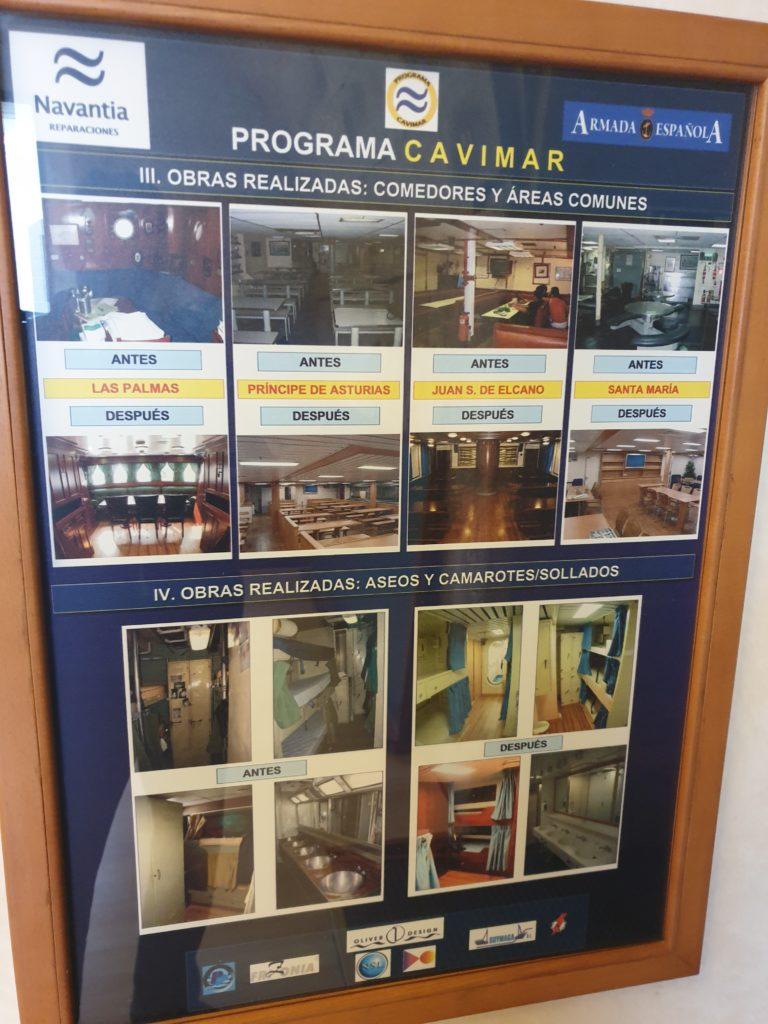 Figura 10: Cartel obras programa CAVIMAR en EXPONAV