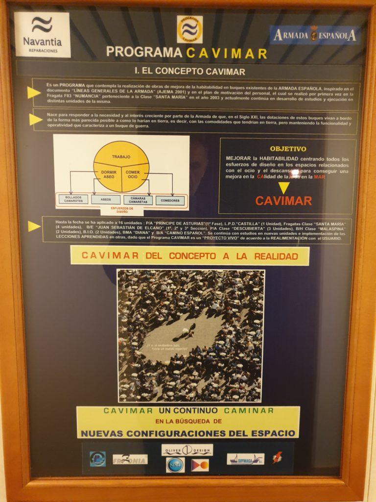 Figura 9: Cartel anunciador programa CAVIMAR en EXPONAV