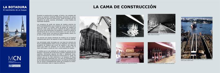 Figura 10. Panel cama de construcción