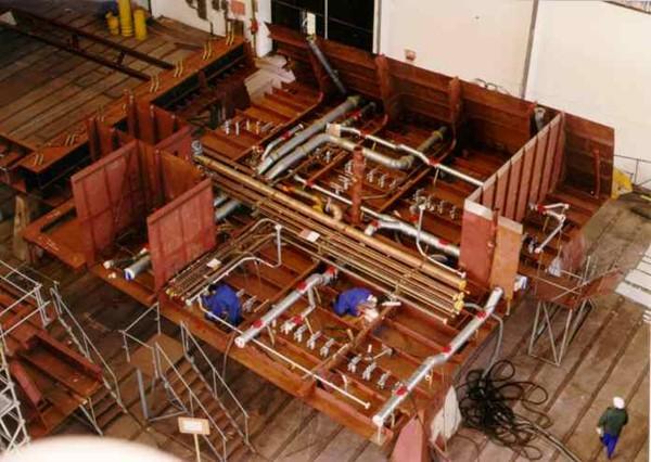 Figura 6: Módulos de tuberías en Ferrol