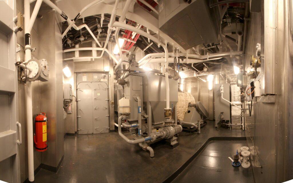 Figura 1: Planta de tratamiento de residuos en buque JC1
