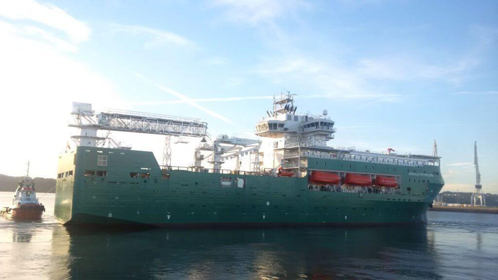 Figura 7 Buque Orgullo Petrolero (Flotel) en Navantia