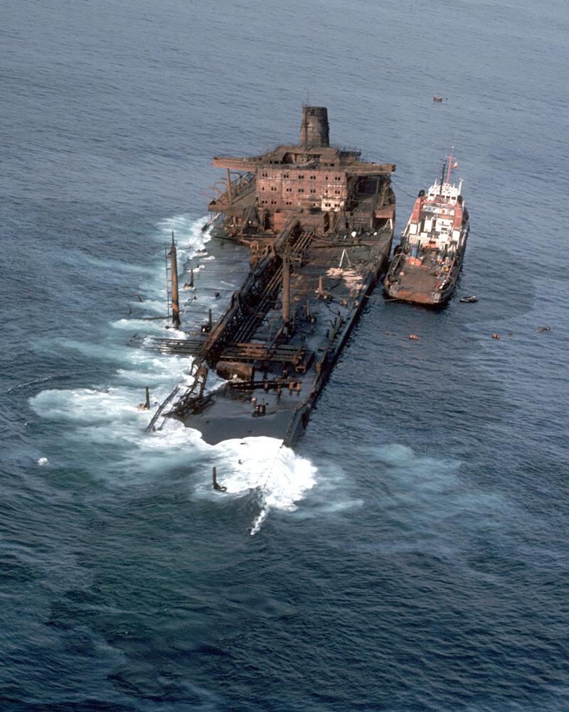 Figura 5: Accidente del Urquiola en Coruña (Fuente: Erich R. Gundlach)