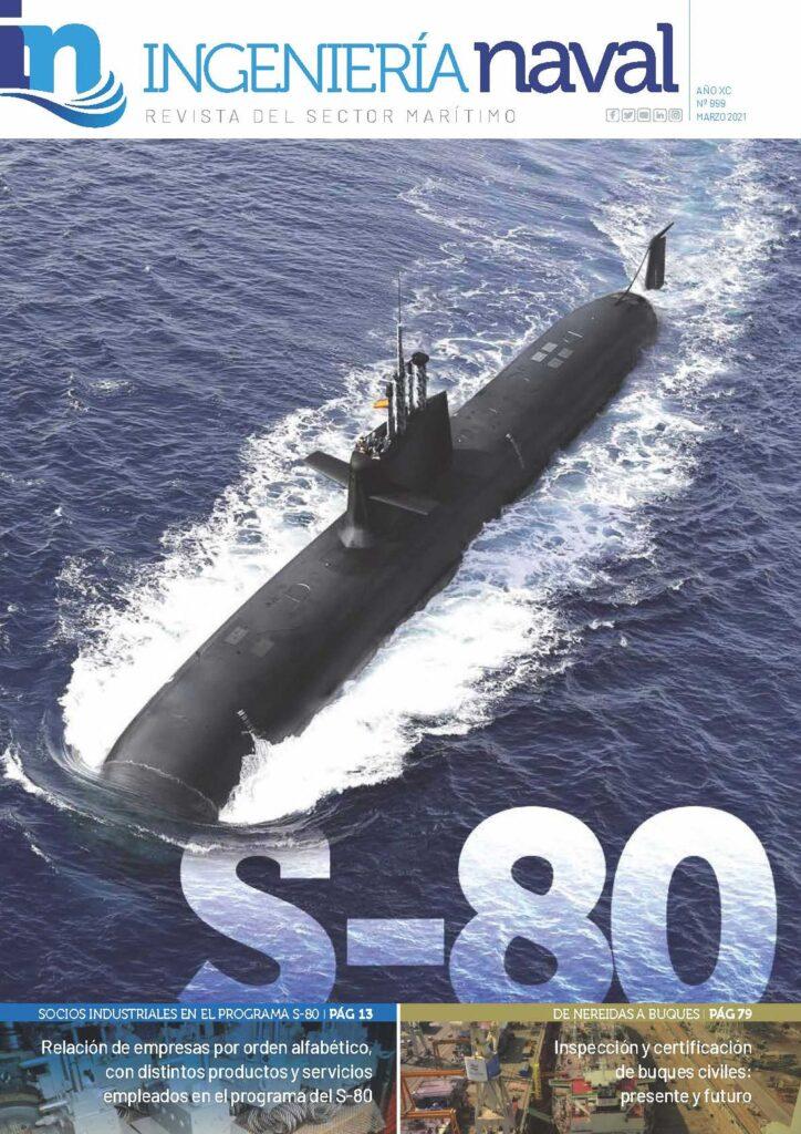 Figura 11: Ejemplar de la revista de ingeniería naval nº 999 de 2021