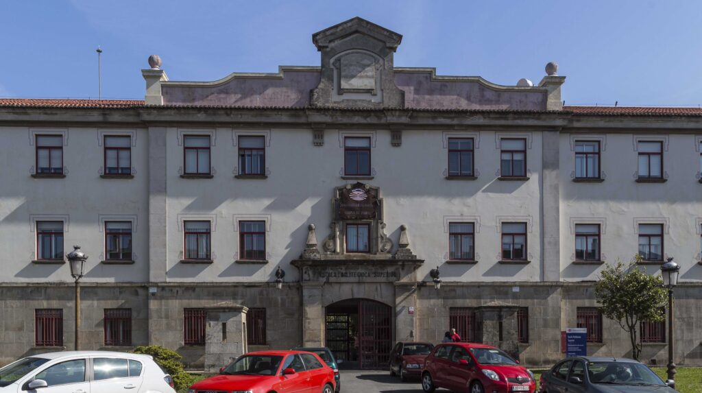 Figura 2: Escuela Politécnica Superior de Ferrol (Campus de Esteiro)