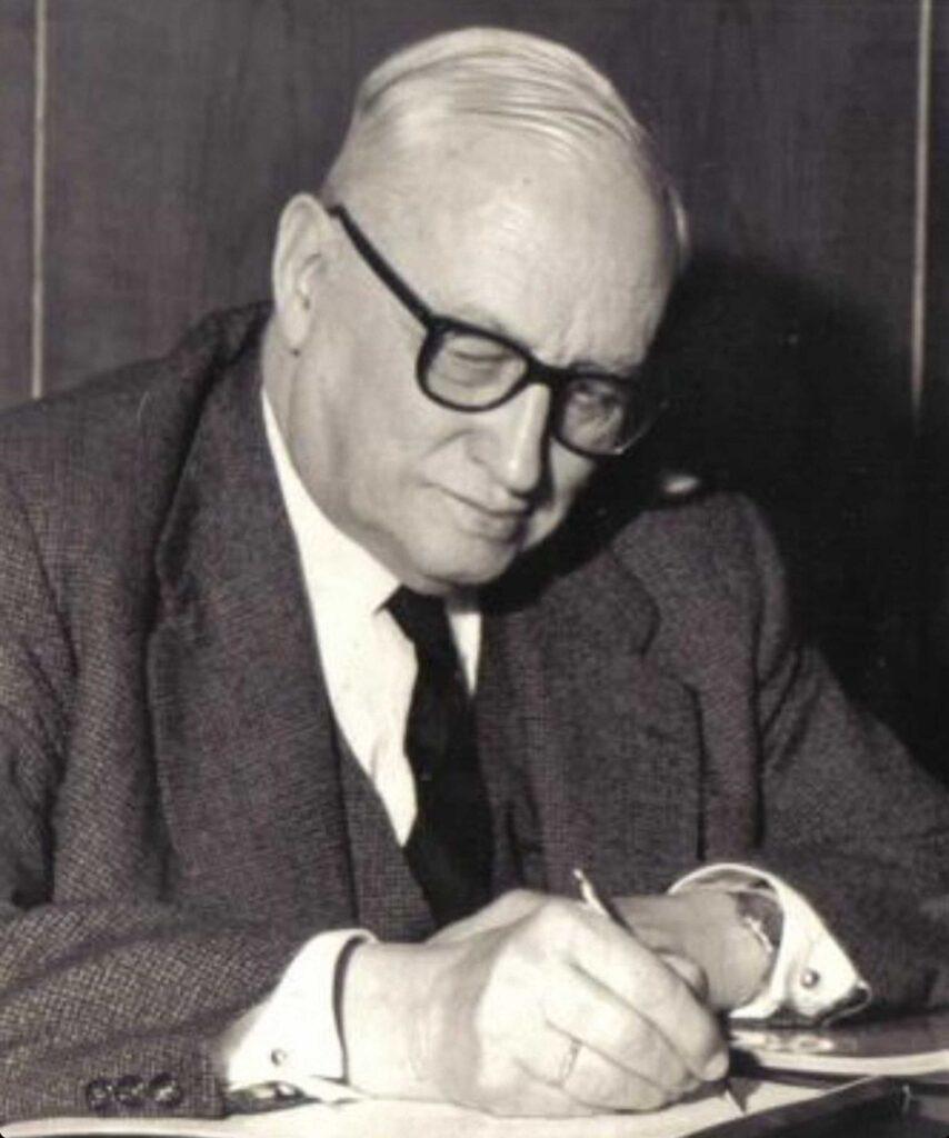 Figura 3: Áureo Fernández Ávila presidente de Ensidesa (Foto facilitada por: Áureo Fernández-Ávila Casas)
