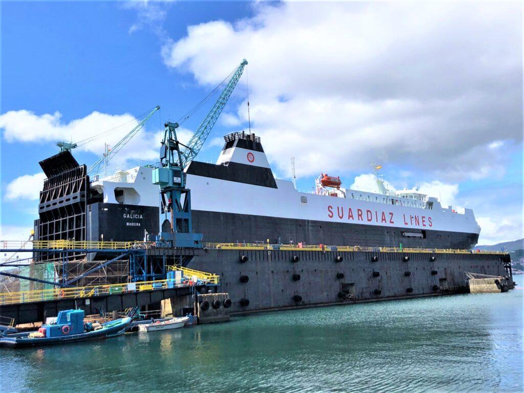"""Figura 9: El """"Galicia"""" en su estado anterior (Fuente: """"Metalships & Docks"""")"""